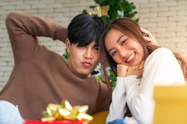Retrato de casal natal