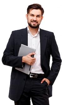 Retrato de empresário confiante
