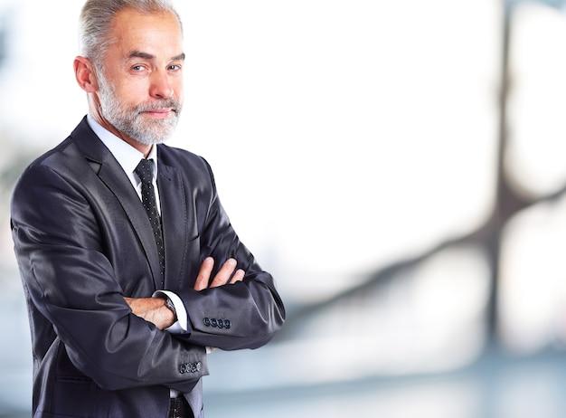 Retrato de empresário
