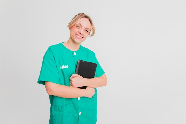Retrato de enfermeira