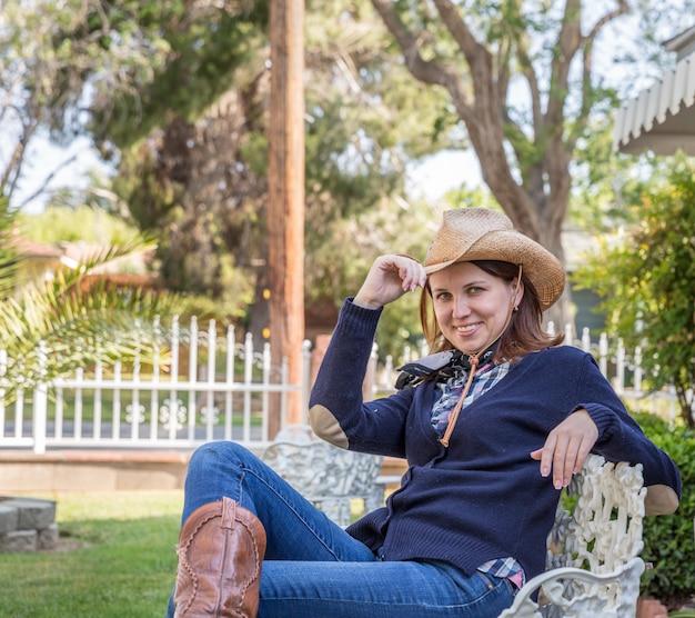 Retrato de estilo country