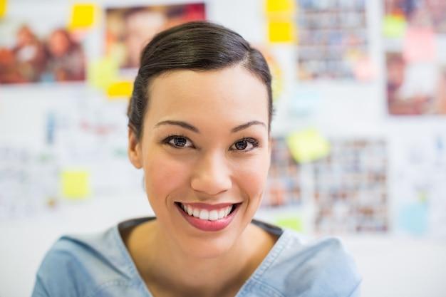Retrato de executivo sorridente