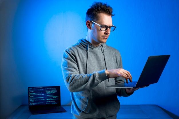 Retrato de hacker
