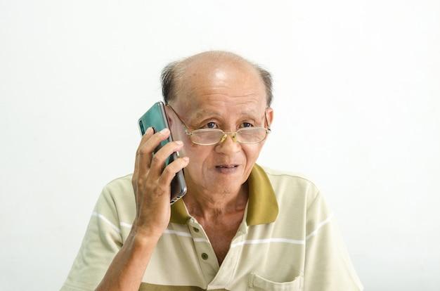 Retrato de homem idoso mais velho