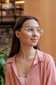 Retrato de jovem empreendedora