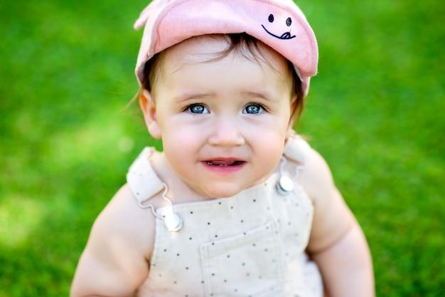 Retrato de menina criança