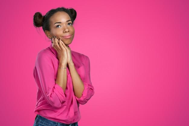 Retrato de mulher afro-americana