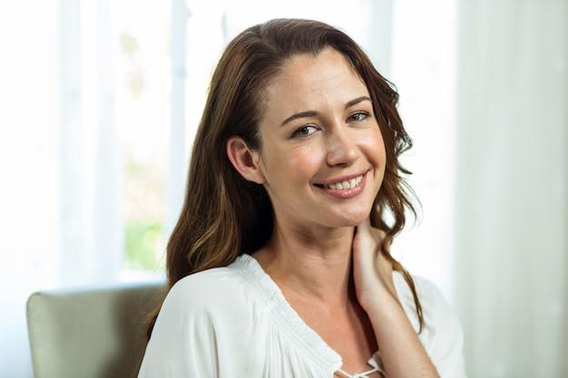 Retrato de mulher de negócios no escritório