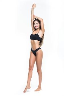 Retrato de mulher perfeita em lingerie