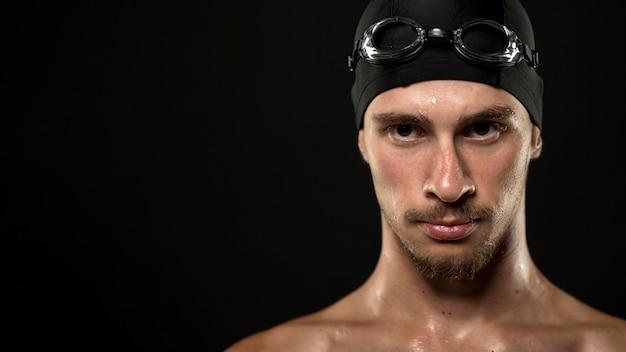 Retrato de nadador