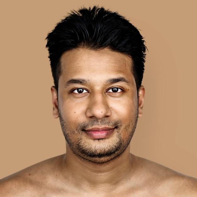 Retrato, de, um, bangladeshiano, homem