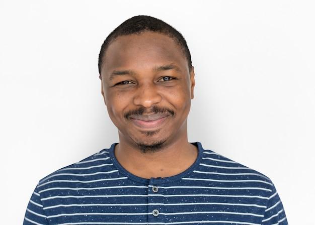 Retrato, de, um, homem americano africano