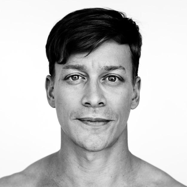 Retrato de um homem austríaco
