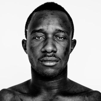 Retrato de um homem ganense