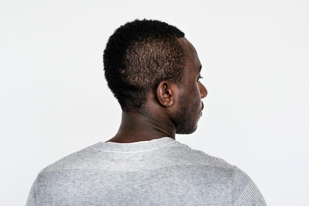 Retrato de um homem ganês