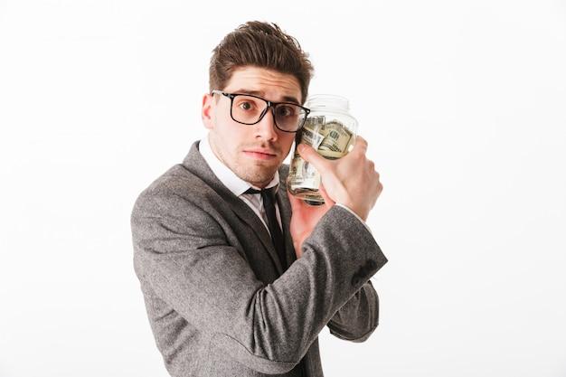 Retrato de um jovem empresário
