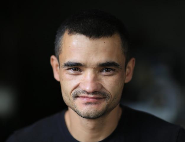 Retrato de um refugiado de perto