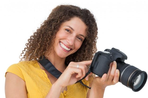 Retrato de uma fotógrafa