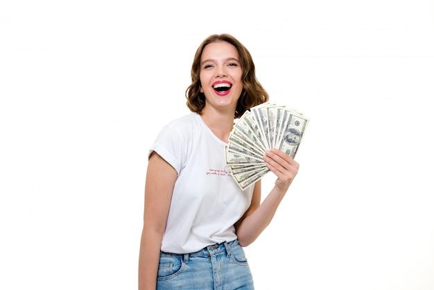 Retrato de uma jovem garota de sucesso