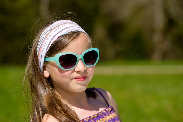 Retrato de uma jovem muito bonita