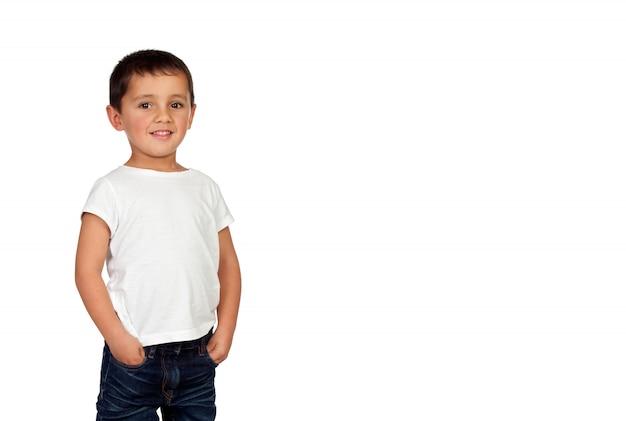 Retrato de uma linda criança