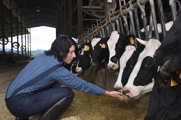 Retrato de uma mulher de fazenda