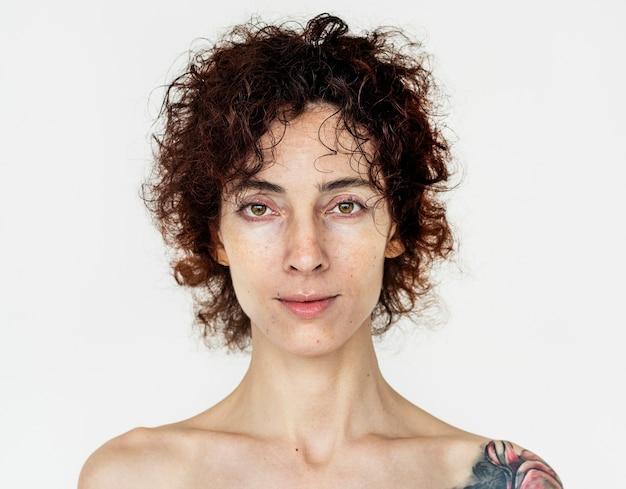 Retrato de uma mulher russa