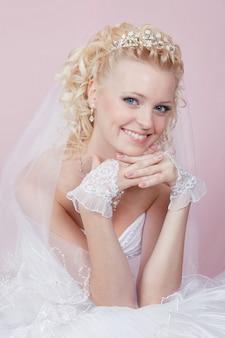 Retrato de uma noiva feliz