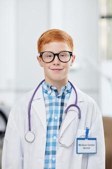 Retrato do futuro médico