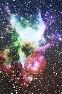 Retratos do espaço, rosa
