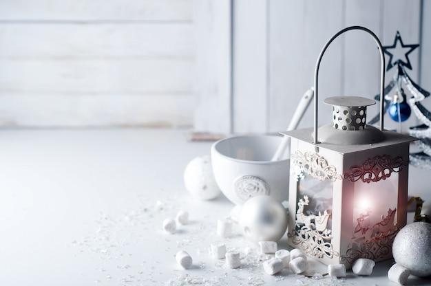 Retro lâmpada branca de fogo