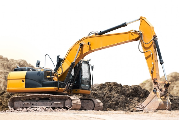 Retroescavadeira escavadeira