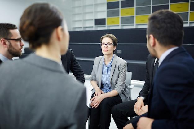Reunião de negociantes de ações