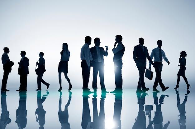 Reunião de negócios casual