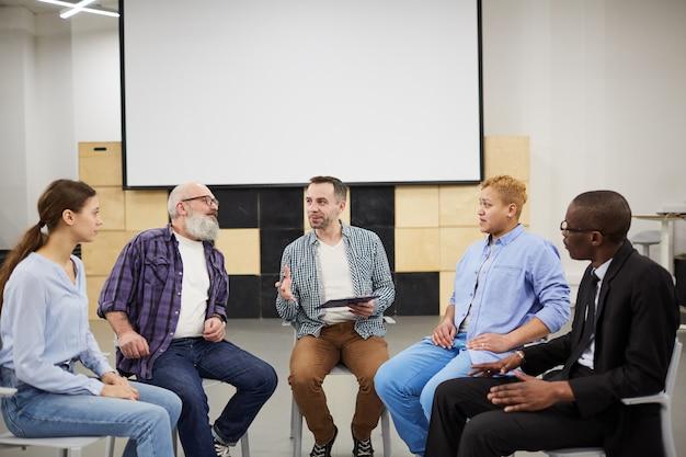 Reunião do grupo de suporte