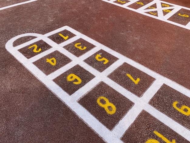 Revestimento de borracha do playground