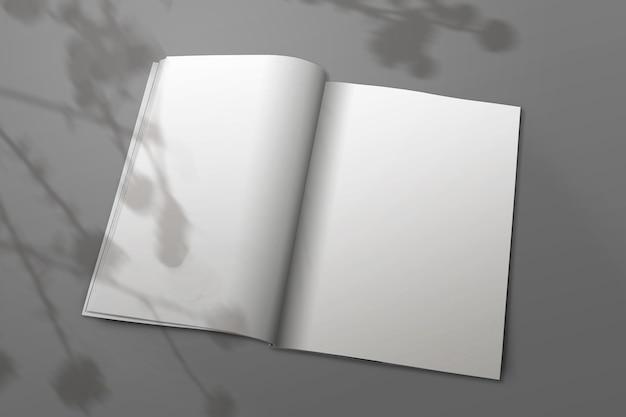 Revista de duas folhas a4