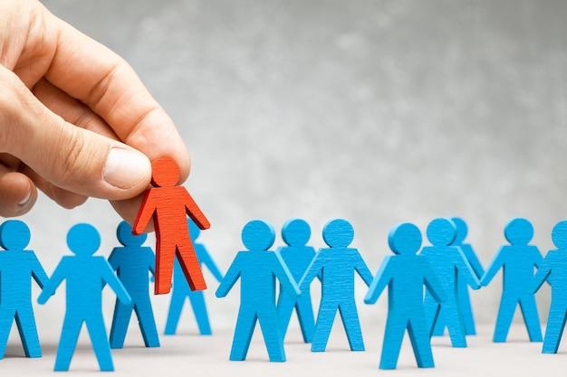 Rh recrutamento de pessoal. escolhendo um bom líder.