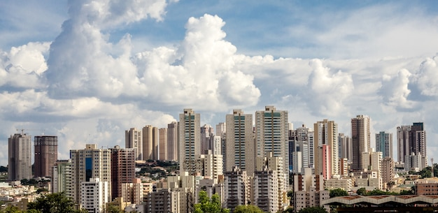 Ribeirao preto city skyline