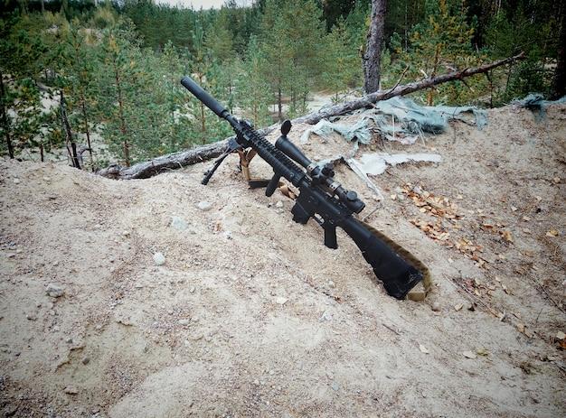 Rifle de assalto.