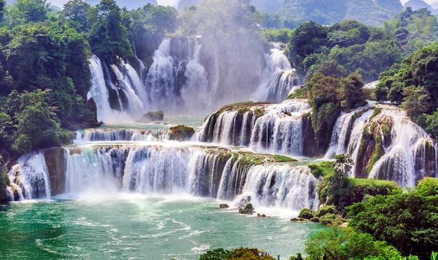 Rio de verão rio floresta costa famosa