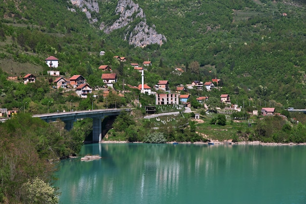 Rio drina na bósnia e herzegovina