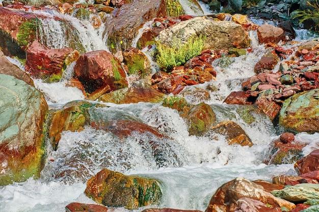 Rio nas montanhas.