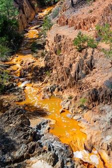 Riotinto mines, huelva, espanha