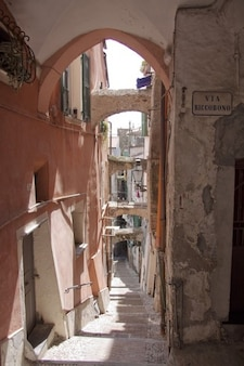 Riviera cidade liguria pigna velho la sanremo