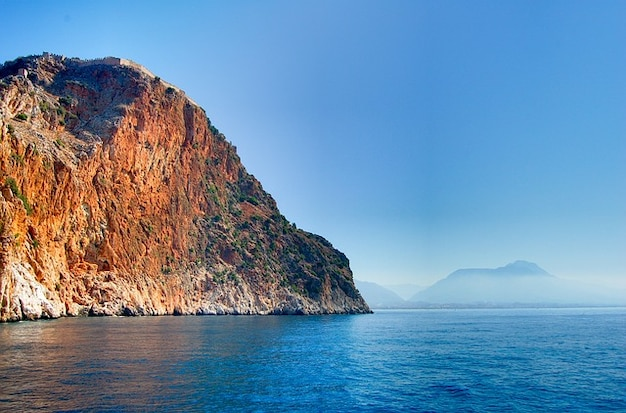 Riviera turca montanhas peru mar