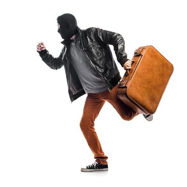 Robber correndo rápido