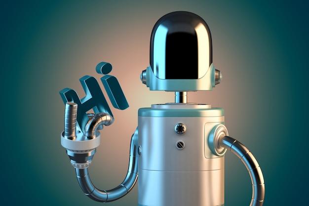 Robô amigável