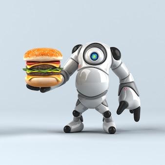 Robô grande - personagem 3d