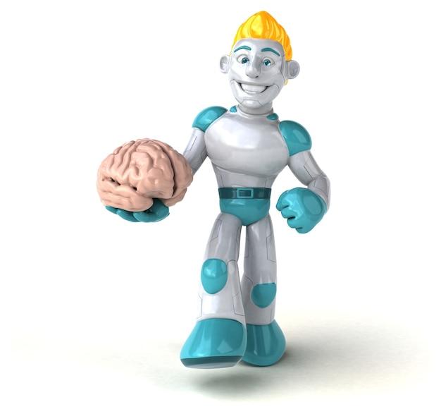 Robô - ilustração 3d